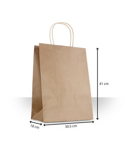 Bolsa de papel con asas Despensa 45 sin imp m
