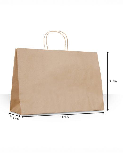 Bolsa de papel con asas Zapatos sin imp m2