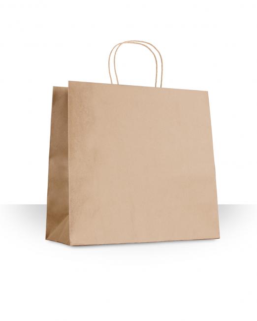 Bolsa papel con asa accesorios sin imp