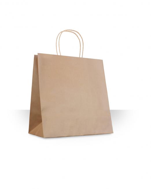 Bolsa papel con asa almeja sin imp