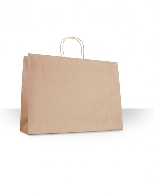 Bolsa papel con asa ropa sin imp