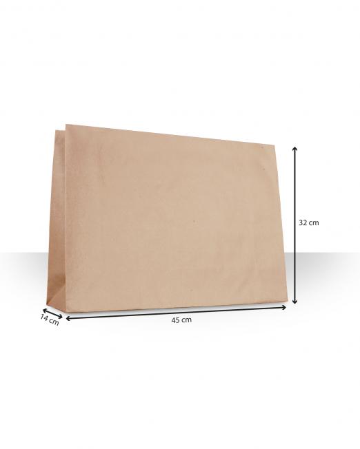 Bolsas de papel sin asas Ropa sin imp m