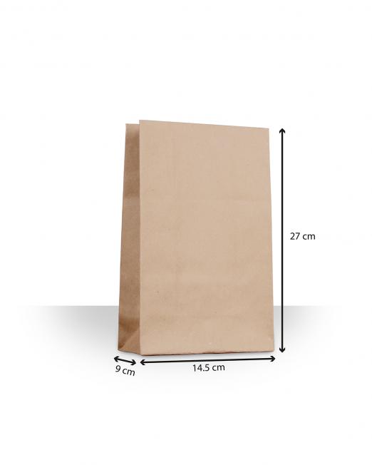 Bolsas de papel sin asas mini sin imp m