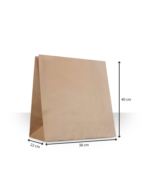 Bosas de papel sin asas Almeja sin imp m