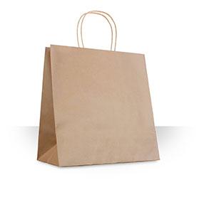 Bolsa para restaurante y contenedor de almeja